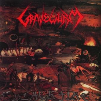Gravewürm - Black Fire - CD