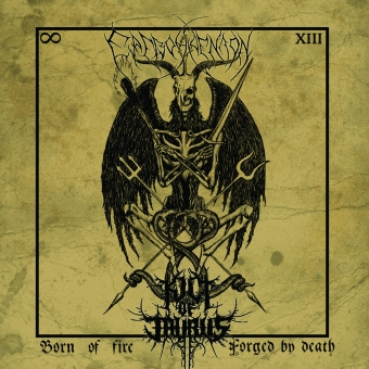 Kult of Taurus / Erevos Aenaon - Born of Fire, ... - Split-CD