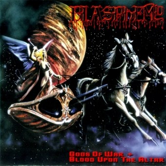 Blasphemy - Gods of War + Blood upon the Altar - DigiCD