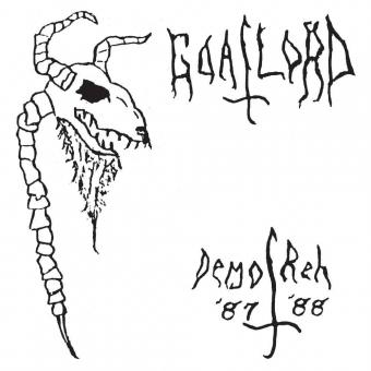 Goatlord - Demo 87 / Reh 88 - CD
