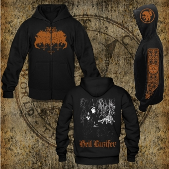 Satanic Warmaster - Heil Luzifer - Hooded Zipper