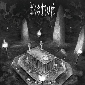 Hostium - The Bloodwine of Satan - LP