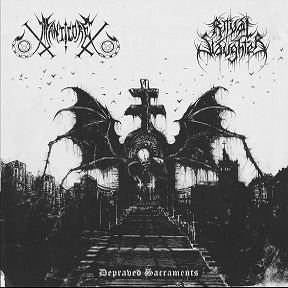 Manticore / Ritual Slaughter - Depraved Sacraments - Split-EP