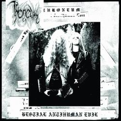 Throneum - Bestial Antihuman Evil - DigiCD