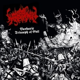 Warpvomit - Barbaric Triumph of Evil - LP