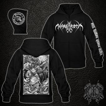 Nargaroth - Anti Human Khaos Order - Hooded Zipper