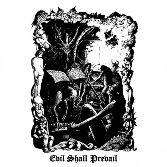 Black Witchery - Evil Shall Prevail - DLP