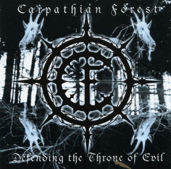 Carpathian Forest - Defending the Throne of Evil - CD
