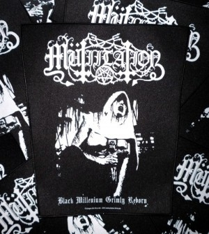 Mütiilation - Black Millenium - Backpatch