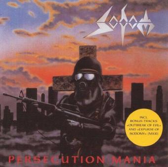 Sodom - Persecution Mania - CD