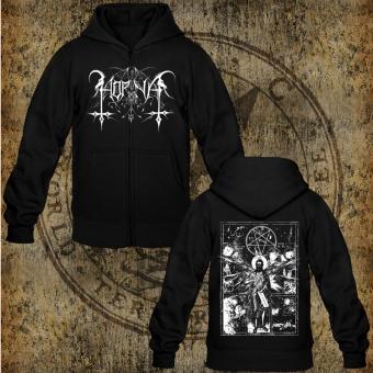 Horna - Angel Of Retribution - Hooded Zipper