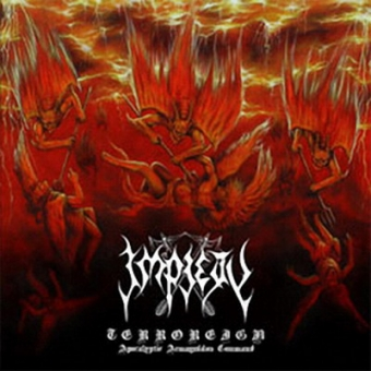 Impiety - Terroreign (Apocalyptic Armageddon Command) - CD