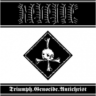 Revenge -  Triumph.Genocide.Antichrist - Digi CD