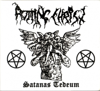 Rotting Christ ‎- Satanas Tedeum Demo 89 - Digifile CD