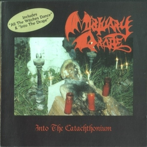 Mortuary Drape - Into the Catachthonium - CD