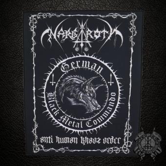 Nargaroth - Anti Human Khaos Order - Backpatch