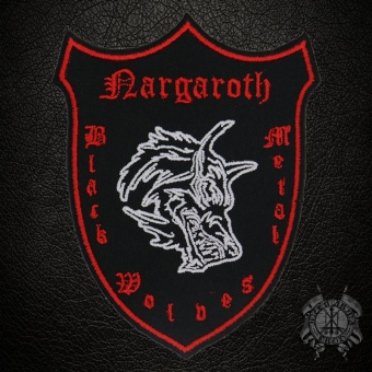 Nargaroth - Black Metal Wolves - Wappen Patch