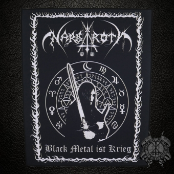 Nargaroth - Black Metal ist Krieg - Backpatch