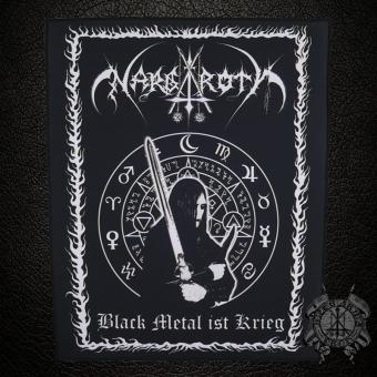 Nargaroth - Black Metal ist Krieg - Backpatch