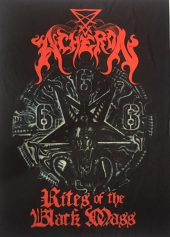 Acheron - Rites of the Black Mass - Flagge