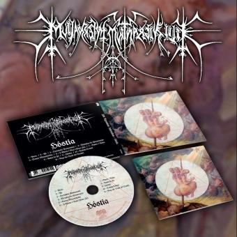 Filii Nigrantium Infernalium - Hóstia - Digipak CD