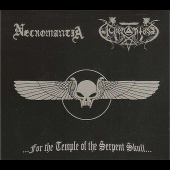 Necromantia / Acherontas -  ...For The Temple Of The Serpent Skull... - Digi CD