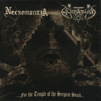 Necromantia / Acherontas - ...For The Temple Of The Serpent Skull... - CD