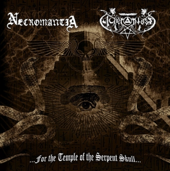 Necromantia / Acherontas - ...For The Temple Of The Serpent Skull... - LP