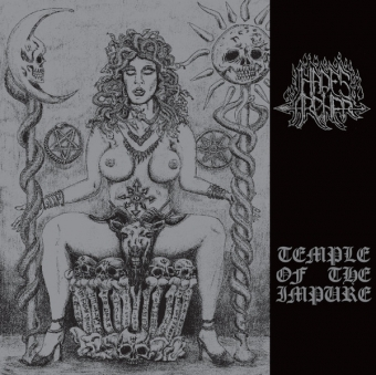 Hades Archer - Temple Of The Impure - CD