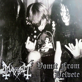 Mayhem - Vomit From Helvete - CD