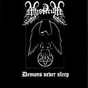 Mysticum - Demons Never Sleep - CD