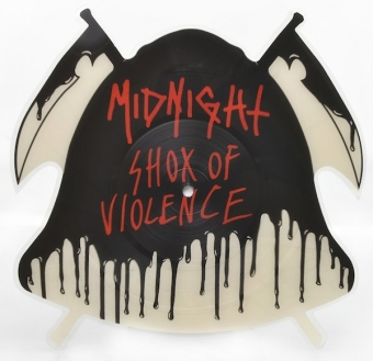 Midnight - Shox Of Violence - Picture LP