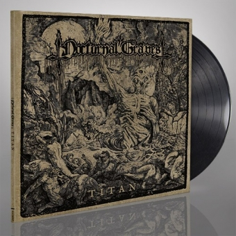 Nocturnal Graves - Titan - Gatefold LP