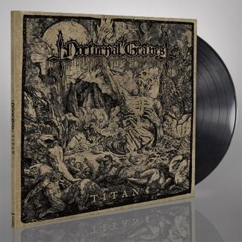 Nocturnal Graves - Titan - Gatefold LP