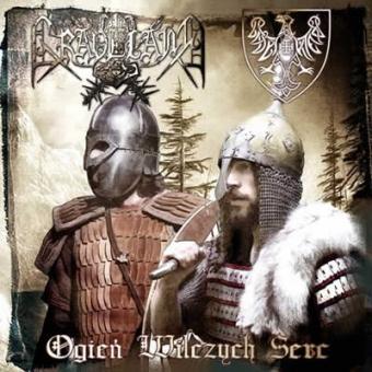 Graveland / Biały Viteź - Ogień Wilczych Serc - CD