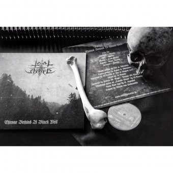 Total Hate - Throne Behind A Black Veil - LP