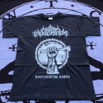 Chaos Invocation - Sacrificial Rites - T-Shirt (Grey)